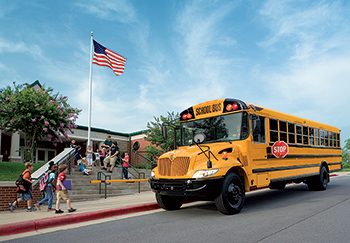 School bus safety and student transportation are Harlow's specialties.
